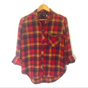 URBAN OUTFITTERS BDG Plaid Flannel button Shirt